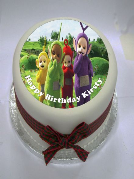 Teletubbies Edible Cake Topper